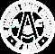 Agc white outline logo