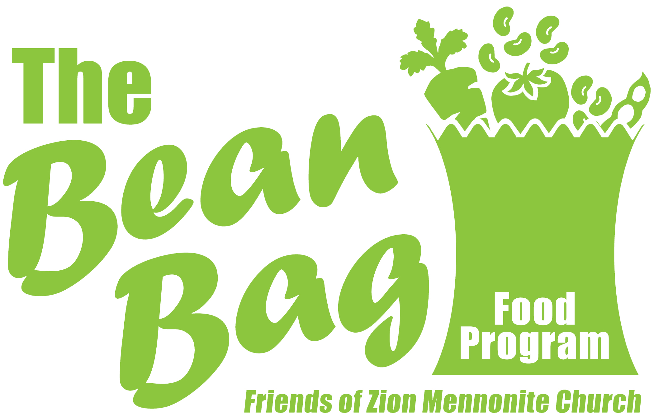 Alderfer Auction The Bean Bag Food Program logo