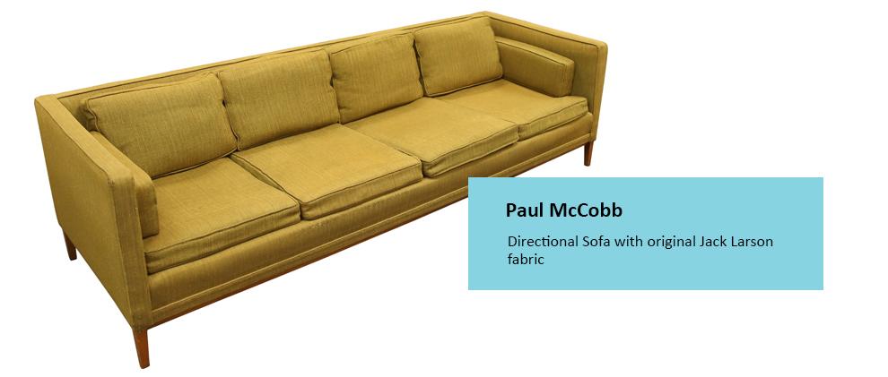 Alderfer Auction mid-century modern furniture Paul McCobb