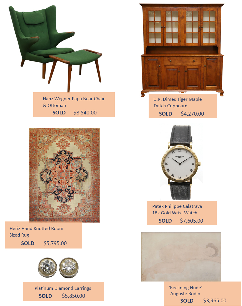 Alderfer Auction collectors highlights two