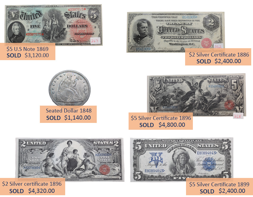 Alderfer Auction coins and currency highlights