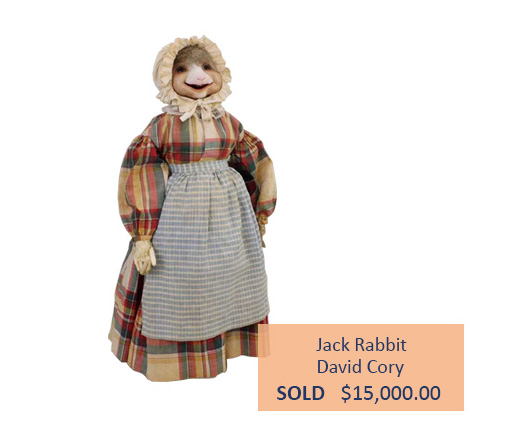 Alderfer Auction David Cory doll highlight