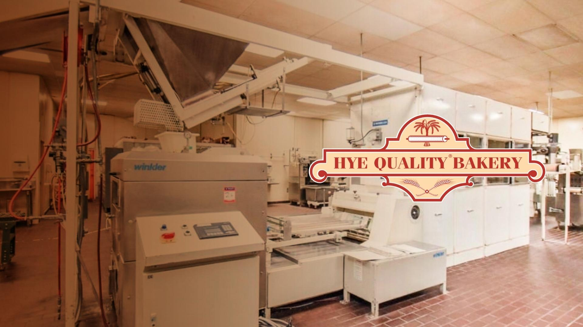 Hye Quality Bakery Complete Facility Auction