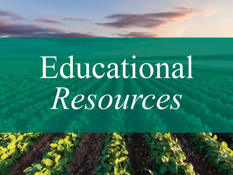 Educational resources website image