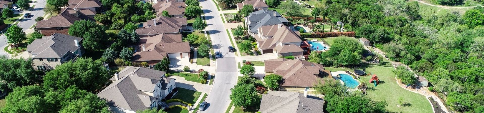 3.aerial view neighborhood