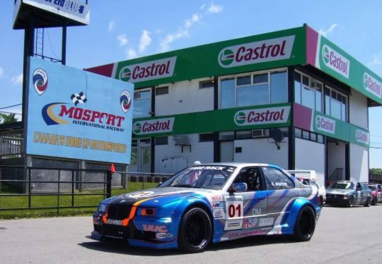 BMW Mosport false grid area
