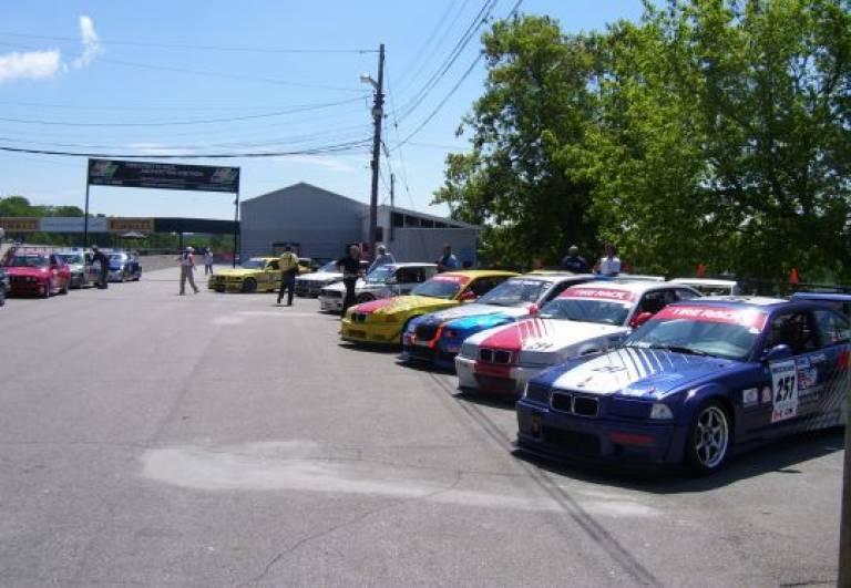 Mosport Grid Line Up June 6-8th, 2008