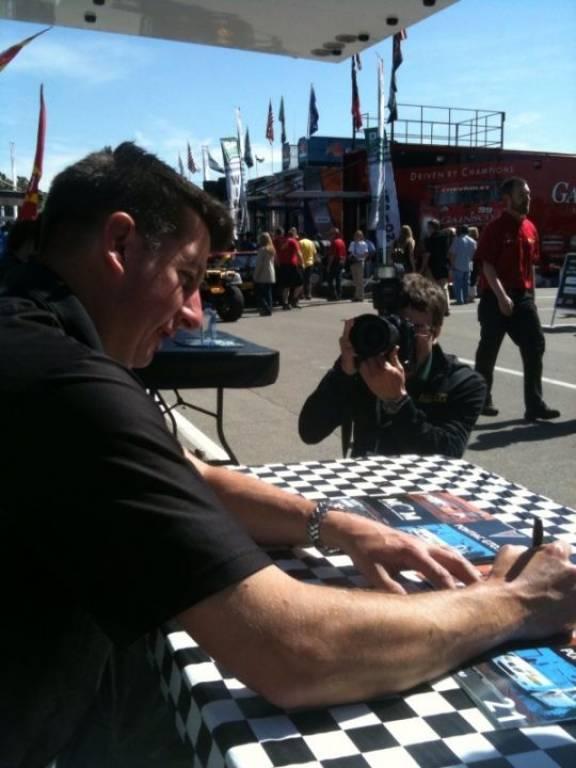 Grand Am autograph session Barber Motorsports Park - 2010