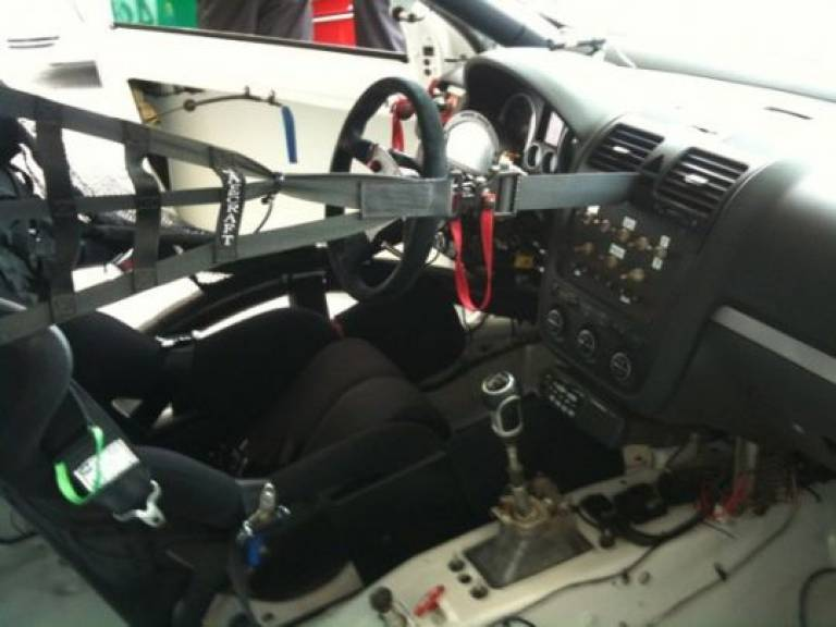 World Challenge - Cockpit Area - Driver: Greg Shaffer Team: Irish Mikes Racing