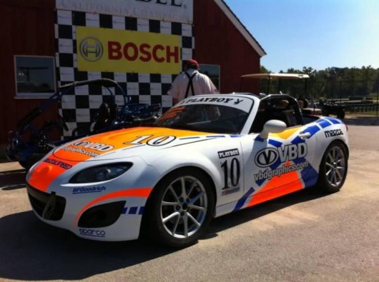 Mazda MX-5 Playboy Cup car: Greg Shaffer / SOLD 10/15/11