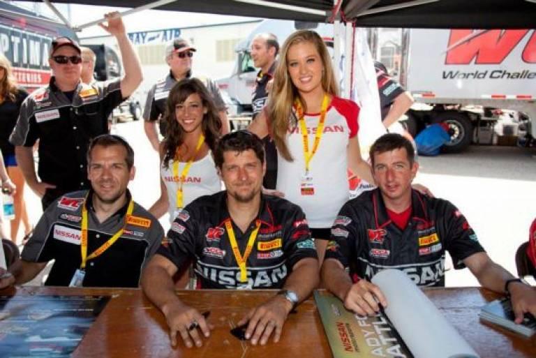 Nissan autograph session 3/25/12 World Challenge St. Pete Grand Prix Florida