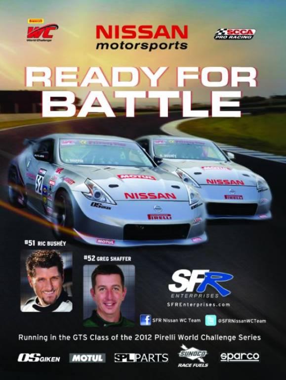 Nissan poster -- Greg Shaffer #52