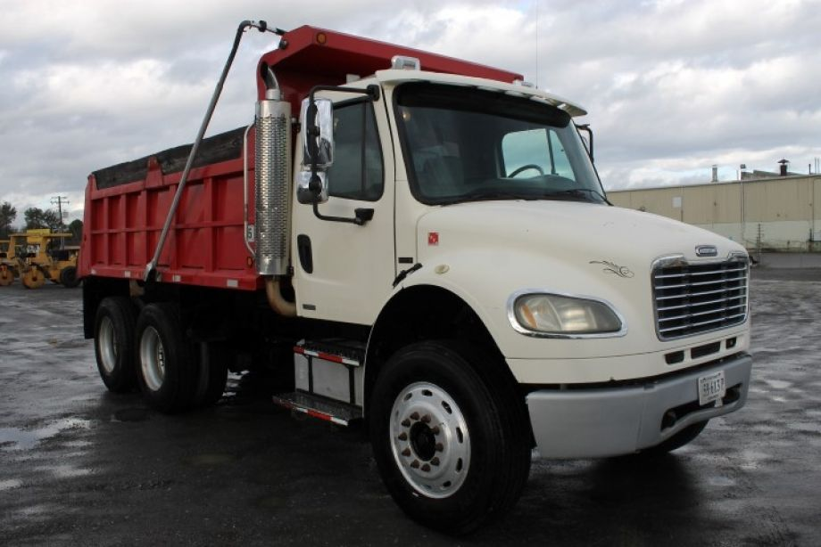 Image for 2005 Freightliner Business Class M2 15' Tandem Axle Dump Truck | New Transmission