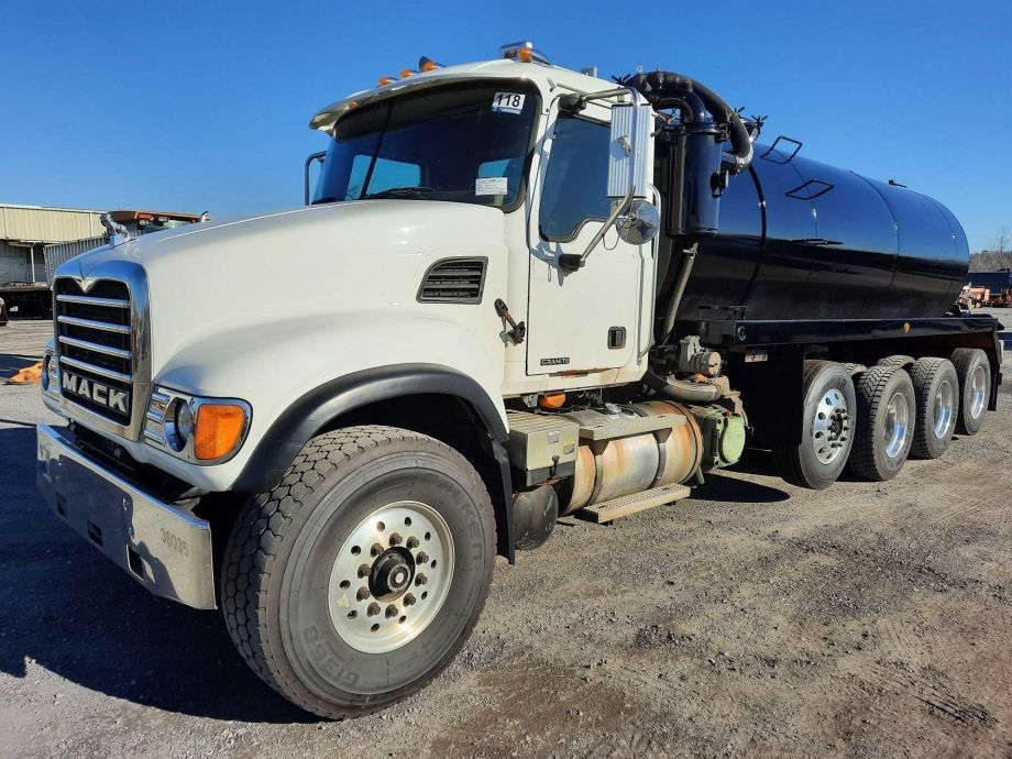 Image for BROKERAGE SALE | 2004 Mack Granite CU713 Septic Tanker Truck | Purchase On Site