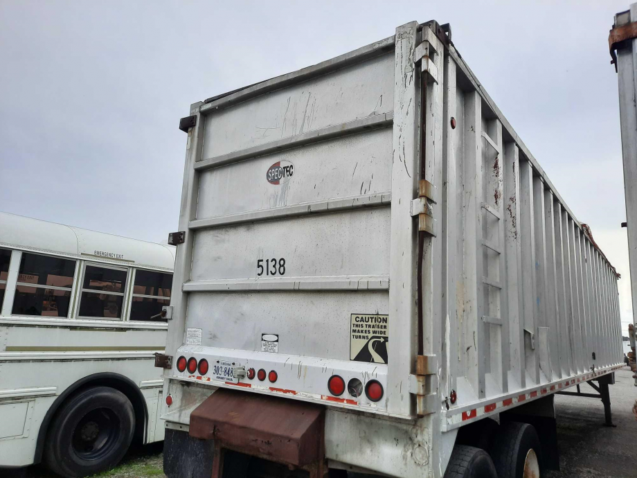 Image for BROKERAGE SALE | 1999 Spectec 48' Open Top Aluminum Trash Trailer | Purchase On Site