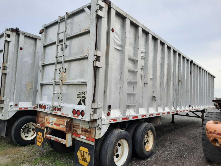 Image for BROKERAGE SALE | 1999 Spectec 48' Open Top Aluminum Trash Trailer | Purchase On Site