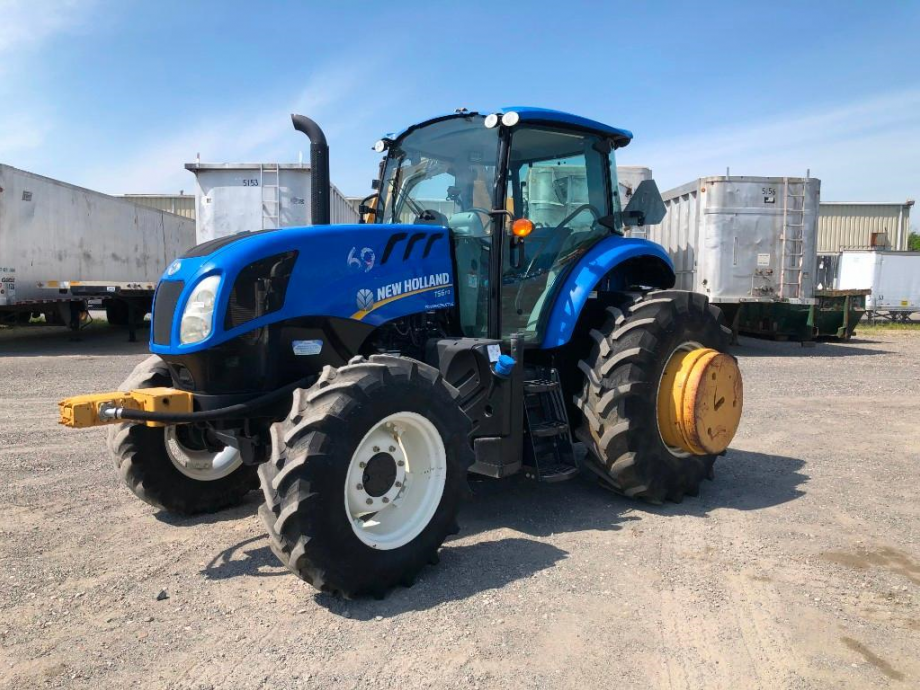 Image for 2016 NEW HOLLAND TS6.110 MFWD TRACTOR