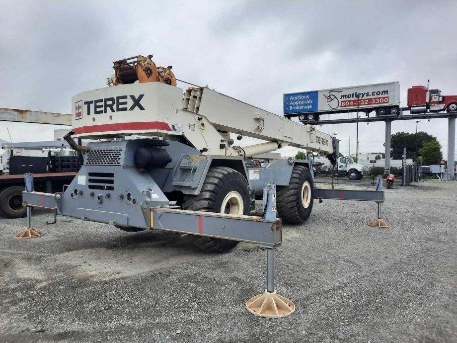 Image for 2007 Terex RT 555-1 Rough Terrain Crane