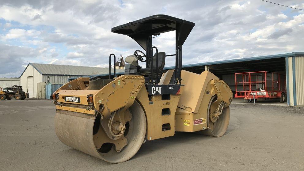 Image for 2011 cat cb54 tandem roller