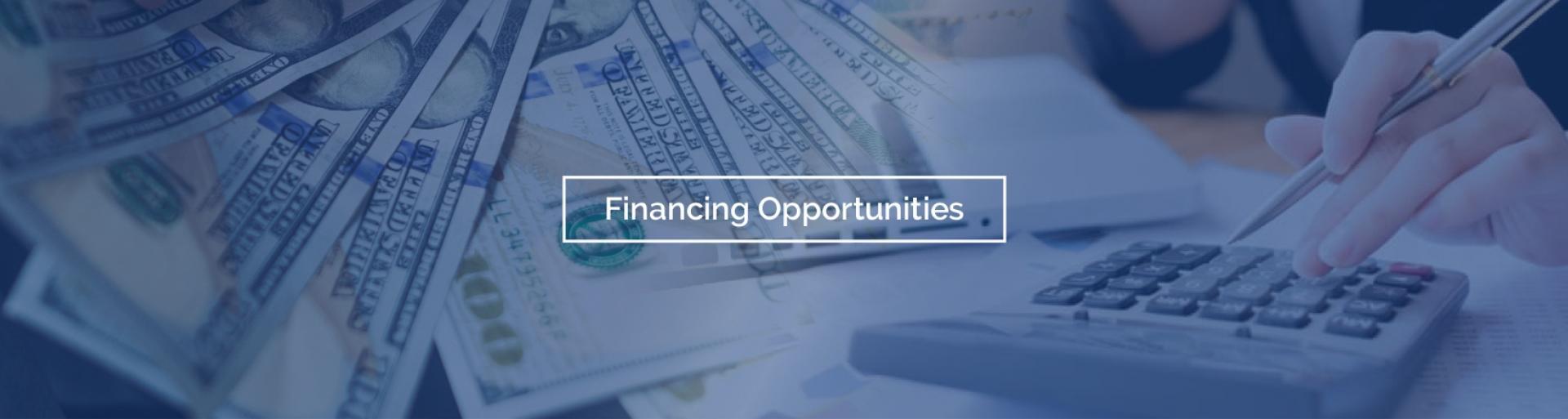 Finance opp slider