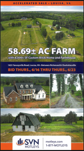 Image for 58.69± AC Farm | Louisa, VA