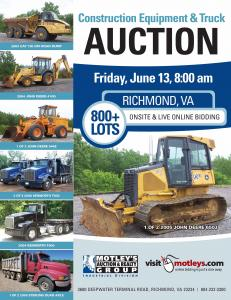 Image for 800+ Lot Construction Equip. & Trucks