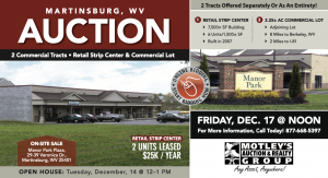 Image for Retail Strip Center | Martinsburg, WV