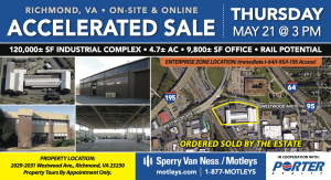 Image for 120,000± SF Industrial Complex   Richmond, VA