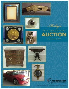 Image for Motleys 45th Anniversary Auction