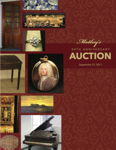 Image for Motleys 44th Anniversary Auction