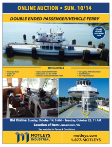 Image for Double Ended Passenger/Vehicle Ferry