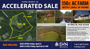 Image for 150± AC Farm | Floyd County, VA