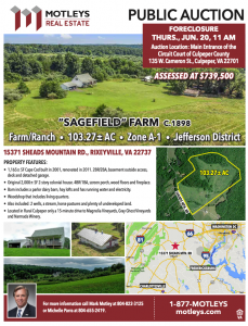 Image for 103± AC Farm/Ranch | Rixeyville, VA