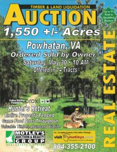 Image for 1,550± AC | Powhatan, VA