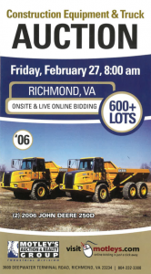 Image for 600+ Lot Construction Equip. & Trucks