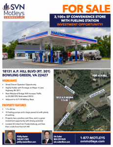 Image for 2,100± SF Convenience Store with Fueling Station | Bowling Green, VA