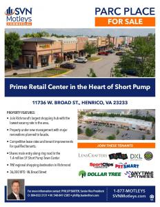 Image for Parc Place -  Retail Center in the Heart of Short Pump, Richmond, VA