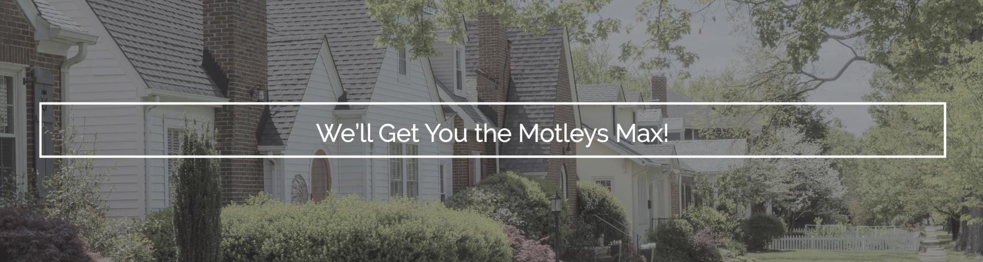 Motleys max website slider