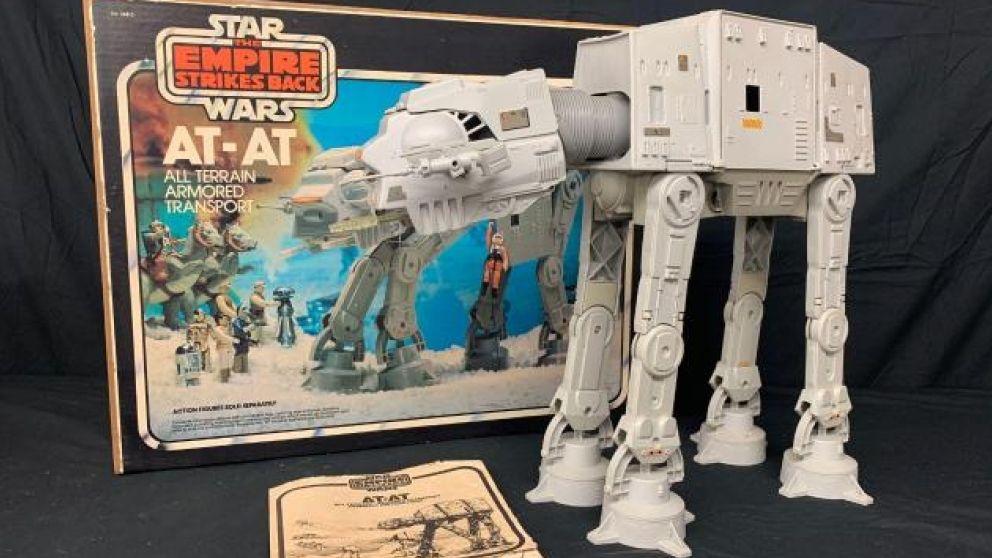 214 Y original at-at star wars empire strikes back