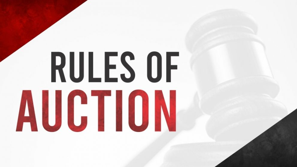 Rules of auction
